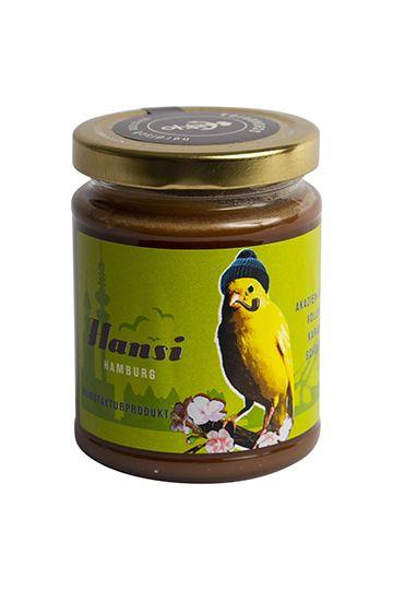 Hansi – Akazienhonig mit Vollmilchschokolade und Karamell, 275g