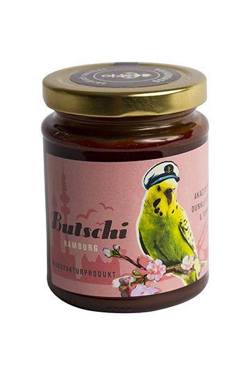 Butschi – Akazienhonig mit dunkler Schokolade und Tonkabohne, 250g