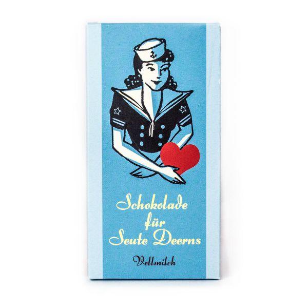 Schokovida Schokolade für Seute Deerns – Vollmilch