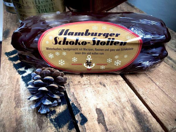 Hamburger Schoko-Stollen, circa 500g