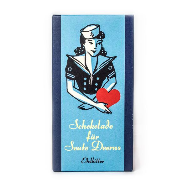 Schokovida Schokolade für Seute Deerns – Edelbitter,