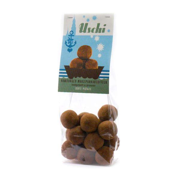 Uschi – Pistazien Marzipankartoffeln