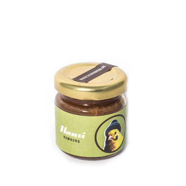Schokovida Hansi – Orangenblüten-Honig mit Vollmilchschokolade und Karamell,