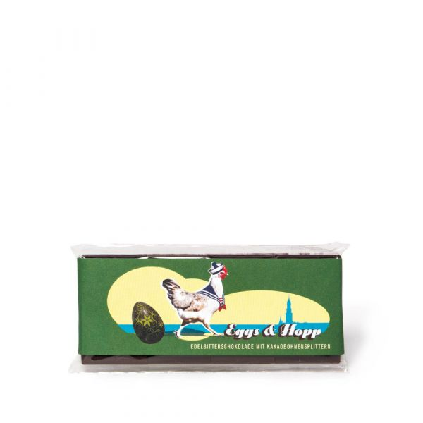 Eggs & Hopp Tafel Edelbitterschokolade