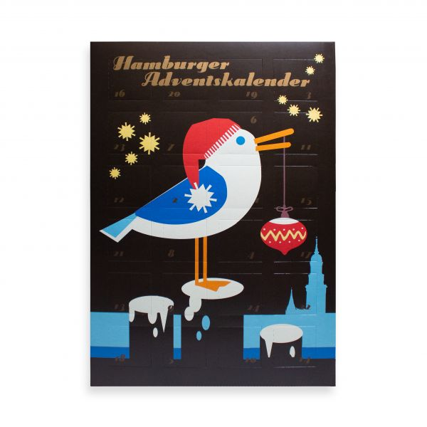 Hamburger Adventskalender, Möwe