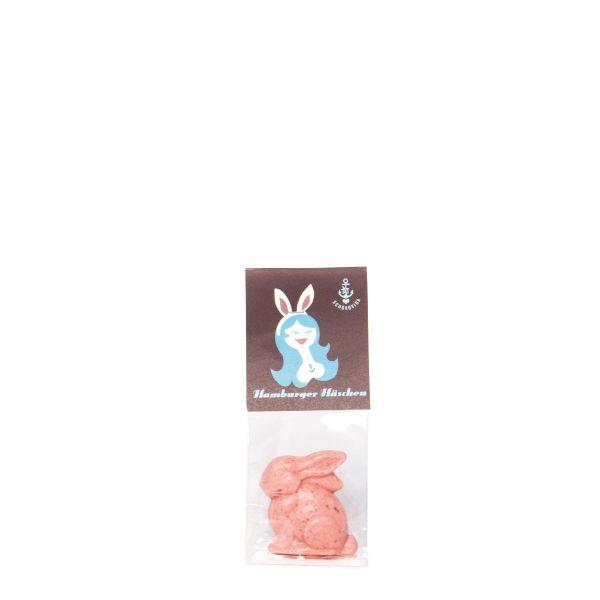 Osterhäschen Erdbeerschokolade